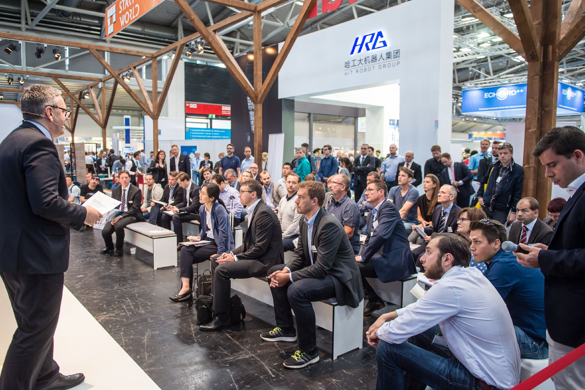 Start up world at automatica Munich