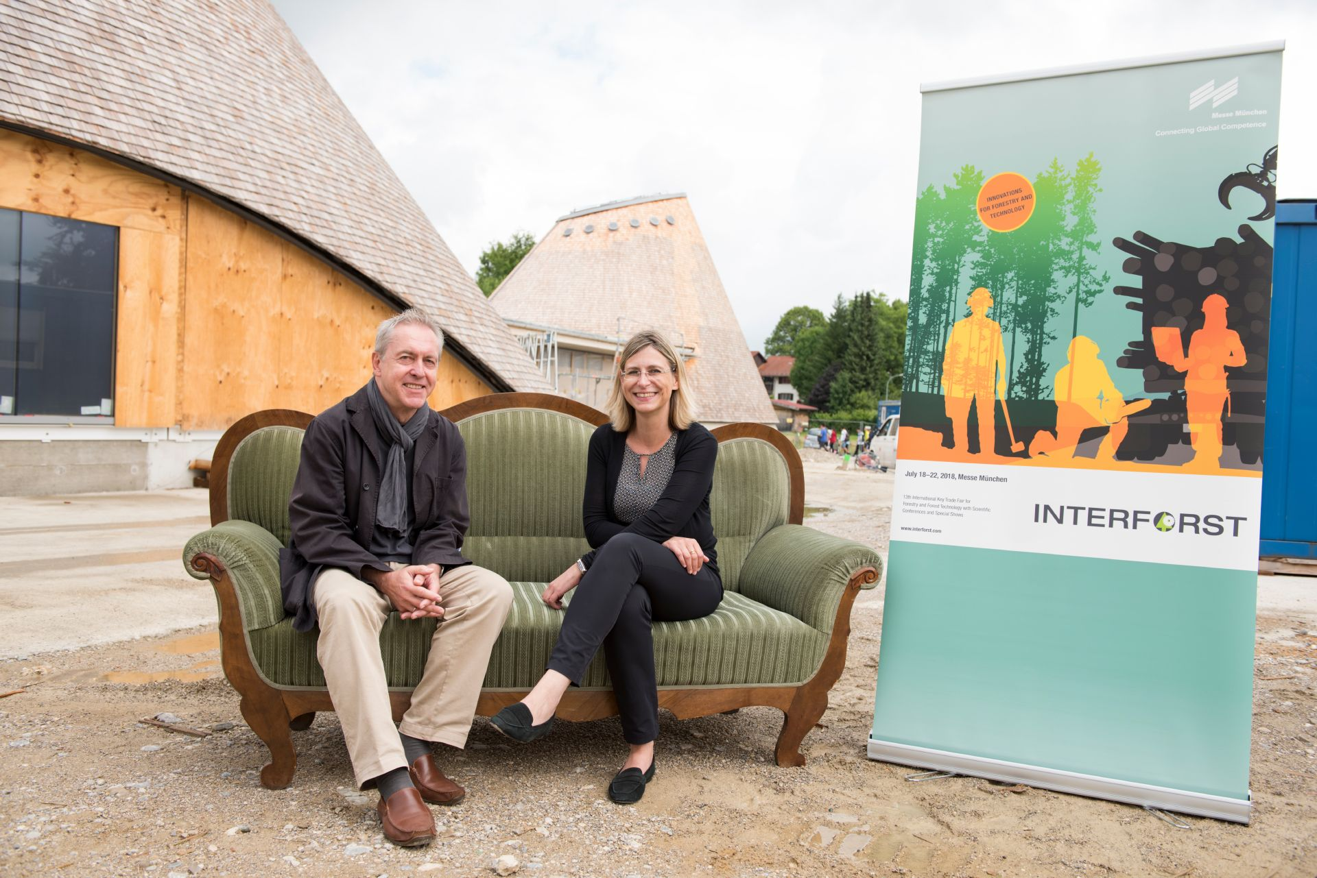 The Green Couch was the meeting point for industry experts and policy-makers