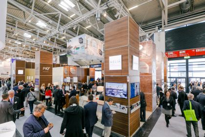 EXPO REAL trade fair stand