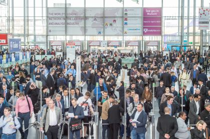 Opening day analytica 2018 - Entrance west