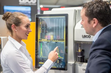 The analytica presents solutions for the laboratory world of tomorrow already today