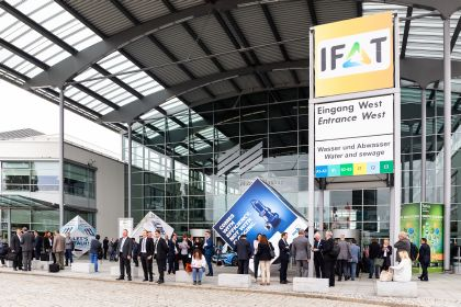 IFAT 2018 entrance west