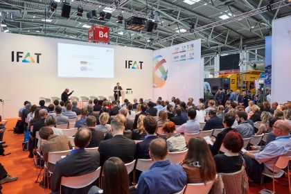 IFAT 2018 Forum waste and secondary raw material
