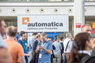 automatica Messe München Eingang Ost