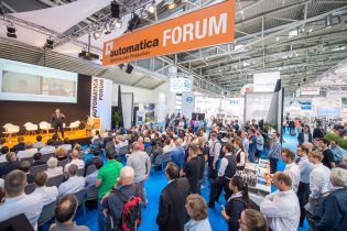 Presentation at automatica Munich