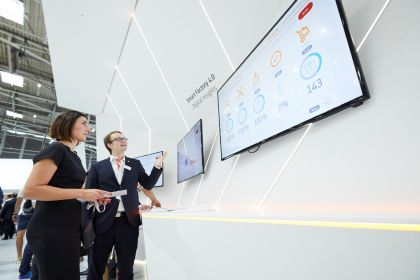 Smart Factory 4.0 at the Automatica