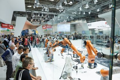 Industry robotics automatica Munich