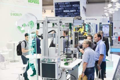 automatica 2018, Assembly and handling technology