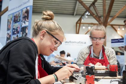 Makeathon at the automatica Munich
