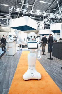 Service robotics at automatica