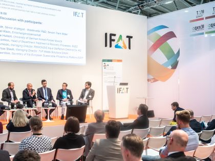 IFAT 2018 - Diskussionspanel