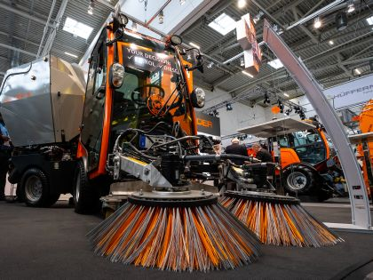 IFAT 2018 - exhibition area Street cleaning, road service and road winter service