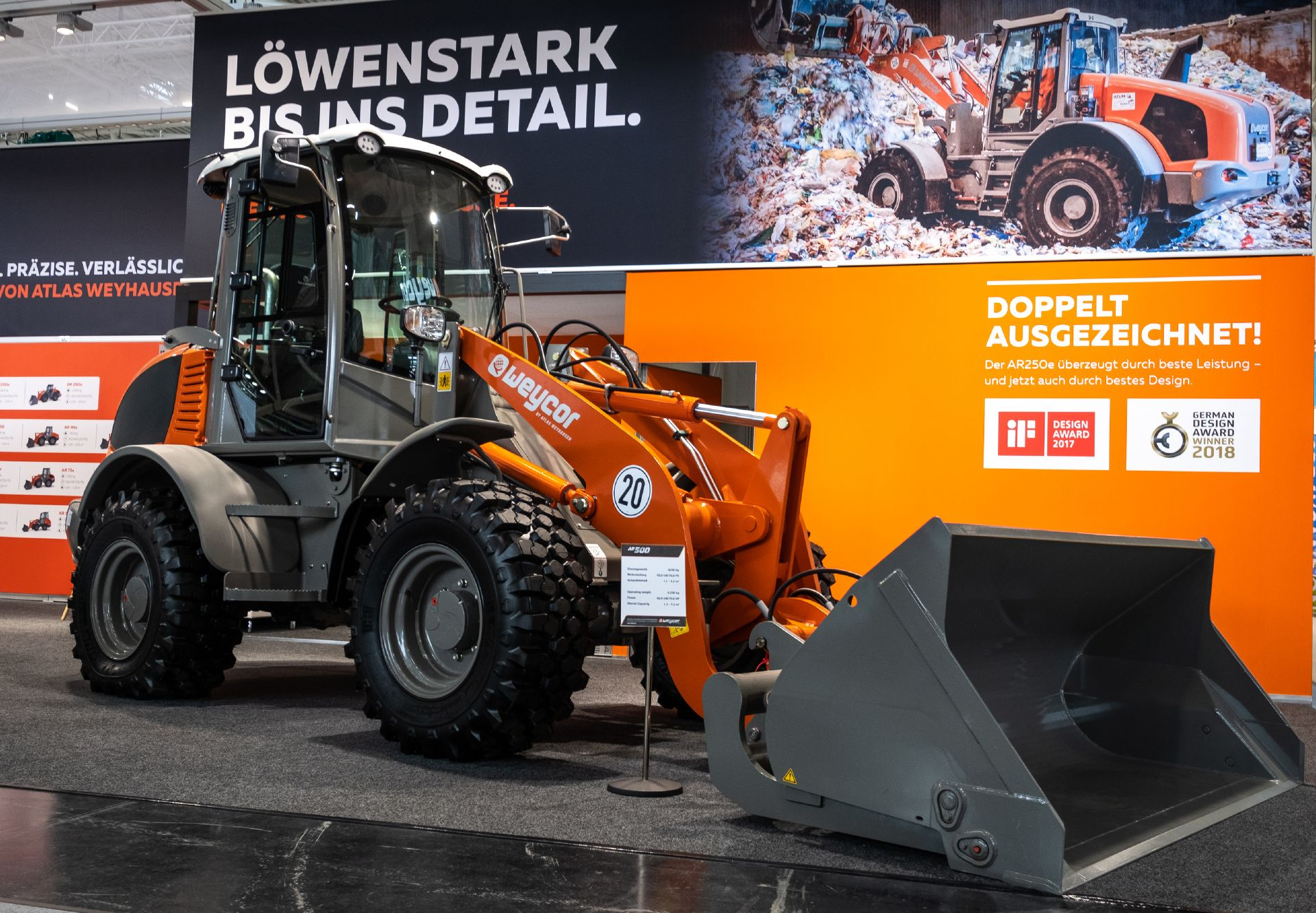IFAT 2018 - sustainability in road construction