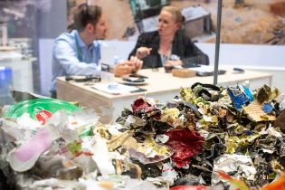 IFAT 2018 - exhibition area waste management & Recycling