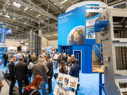 IFAT 2018 - exhibittion area Plant construction for water treatment and wastewater treatment