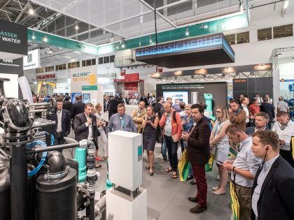 IFAT 2018 - exhibition area Machine and plant engineering in the water industry