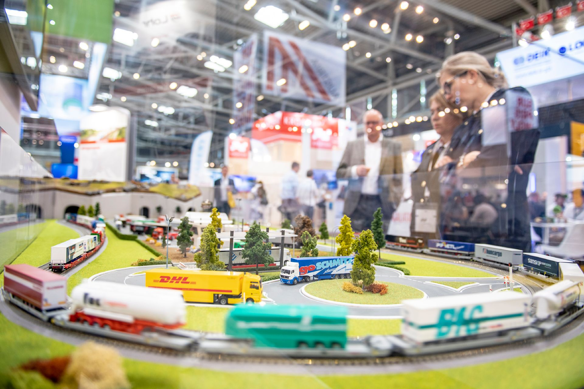 transport logistic exhibition stand Lohr Industrie