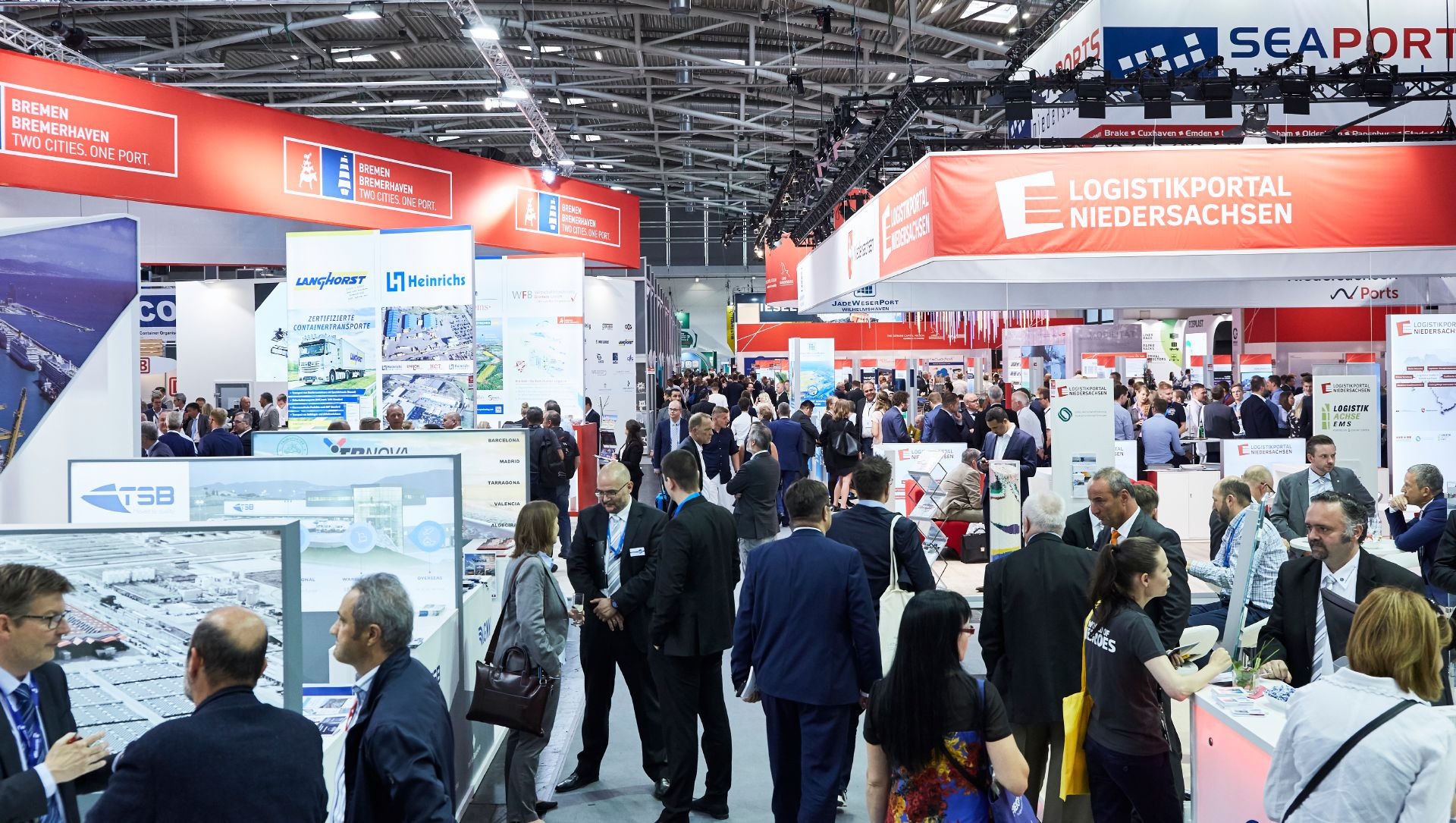 transport logistic Messestand Seaports of Niedersachsen