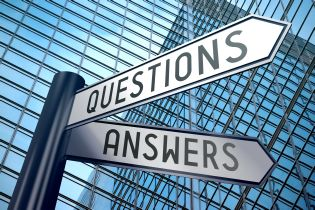 signpost, questions, answers