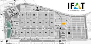 IFAT trade fair venue map, Management of hazardous substances