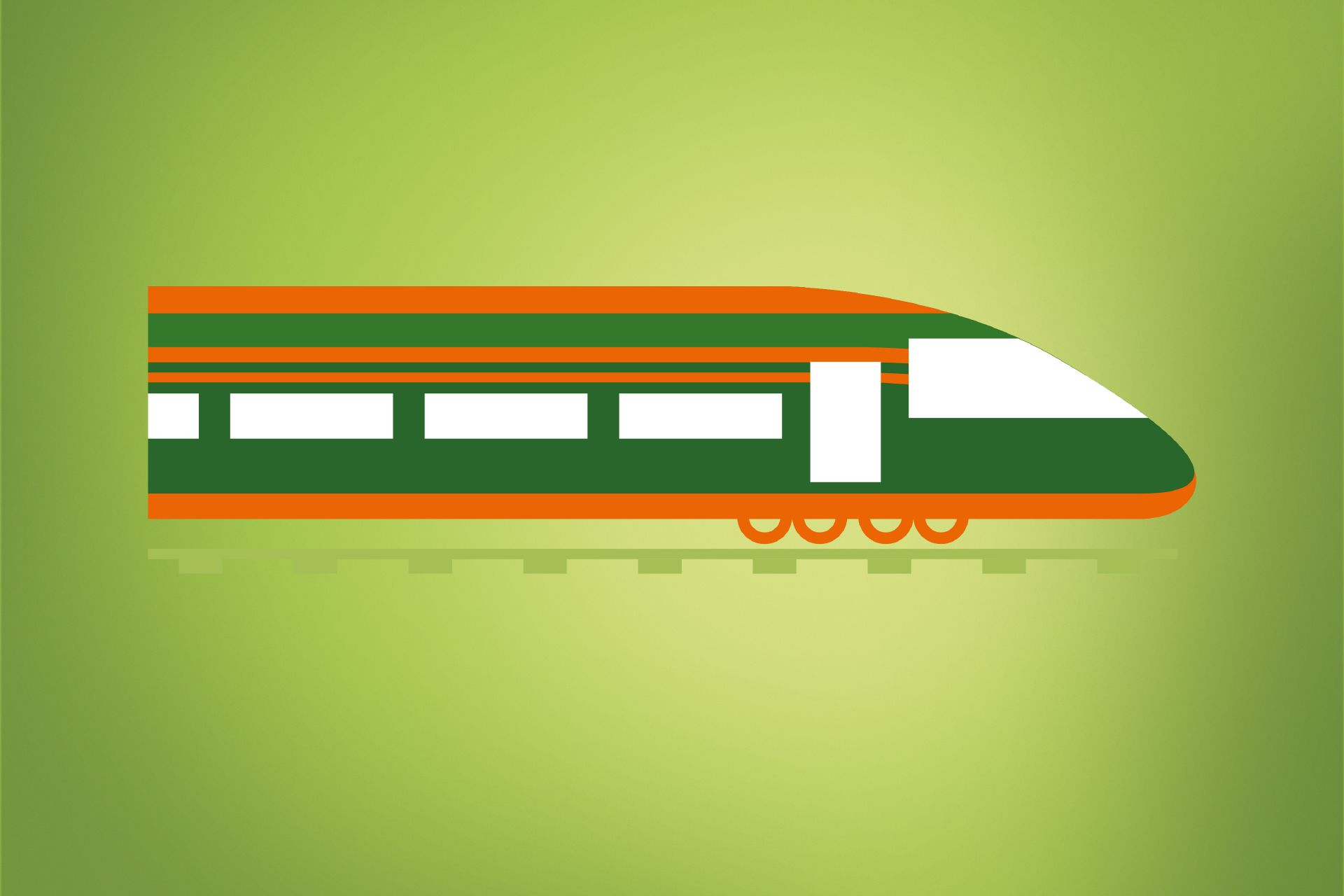 Icon of a train