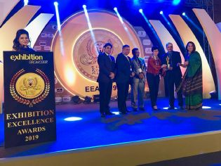 Award for bauma CONEXPO INDIA