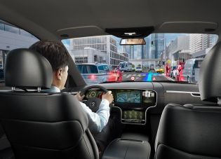 Continental and DigiLens are developing novel head-up displays