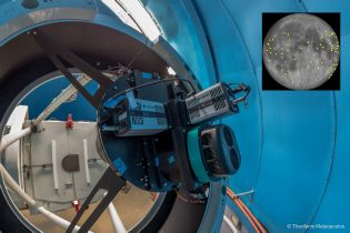 ANDOR-sCMOS-Cameras film NEO-impacts on the moon