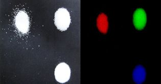 Salt, sugar and citric acid in visible light and hyperspectral
