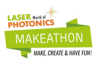 LASER World of PHOTONICS Make Light MAKEATHON logo