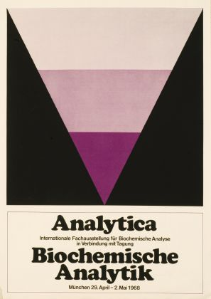 International technical exhibition of analytica in 1968