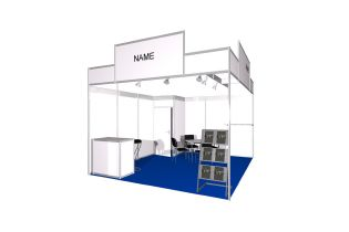 Package stand Type Clear at analytica