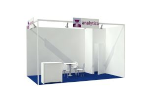 Package stand Type Straight at analytica