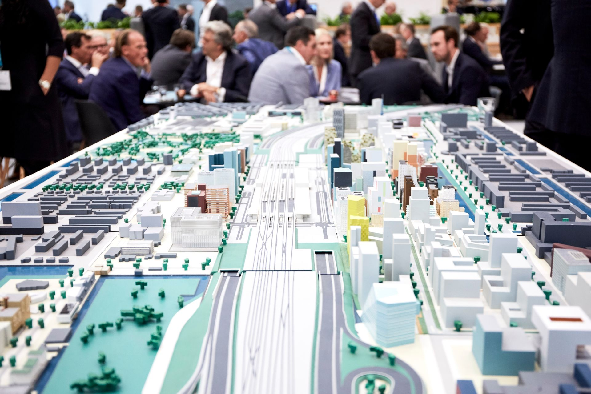 EXPO REAL model of the city