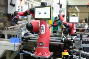 The Hahn Group wants to combine Sawyer technology of Rethink Robotics from Boston with German engineering.