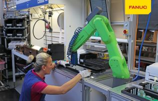 Fanuc uses its standard industrial robots in its CR models.