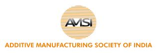 Logo Additive Manufacturing Society of India