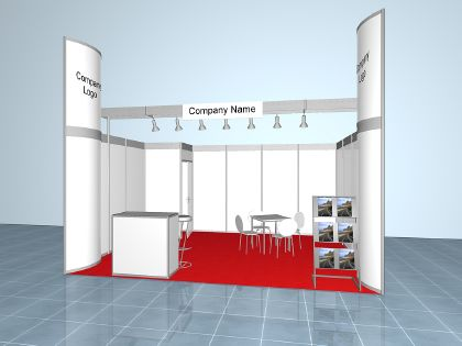 transport logistic Full-Service Stand