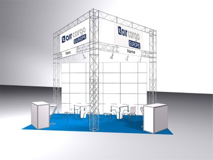 air cargo europe model exhibition stand