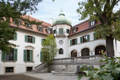The Monacensia library and literary archive, Hildebrandhaus Munich.
