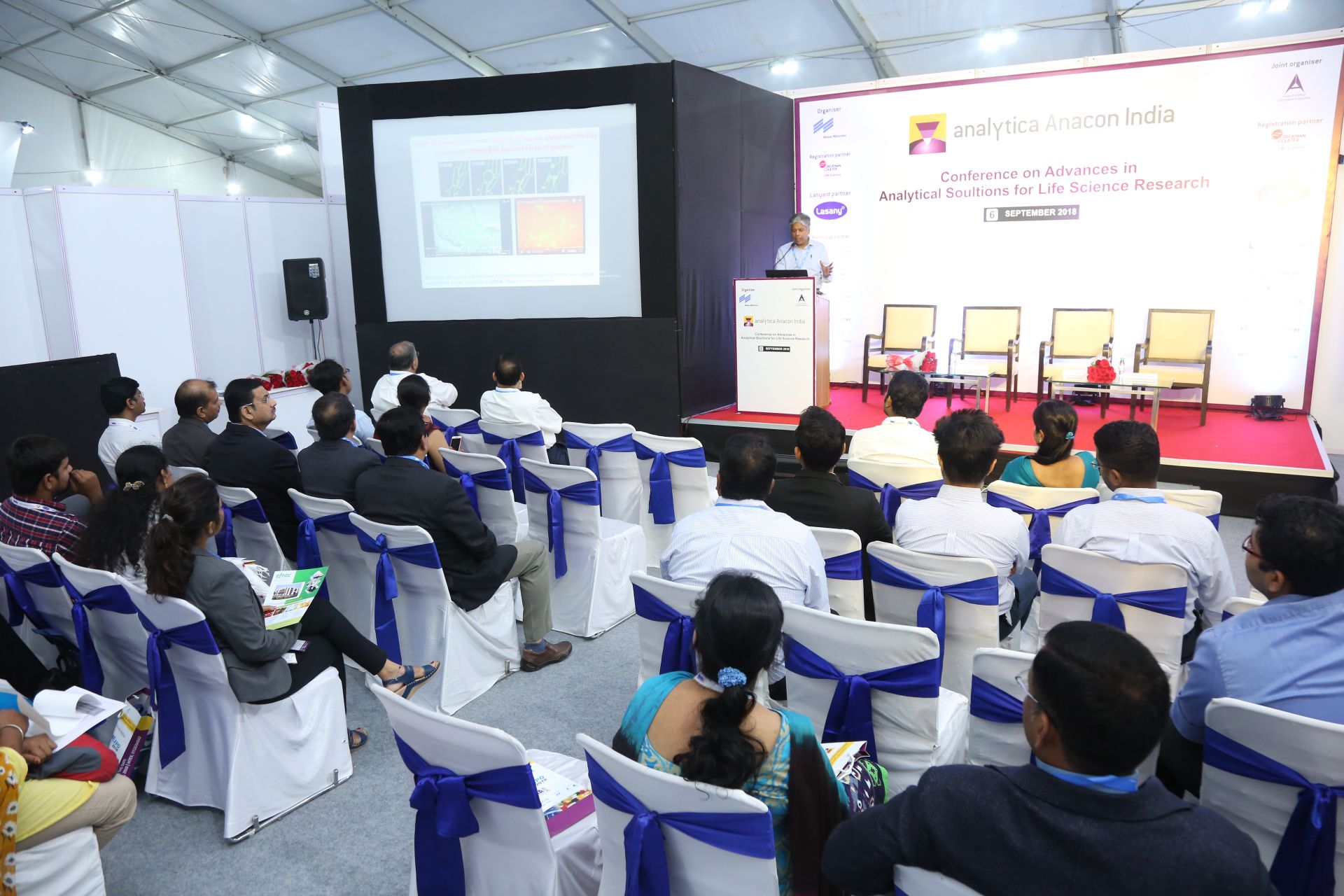 analytica Anacon India & ILE: conference