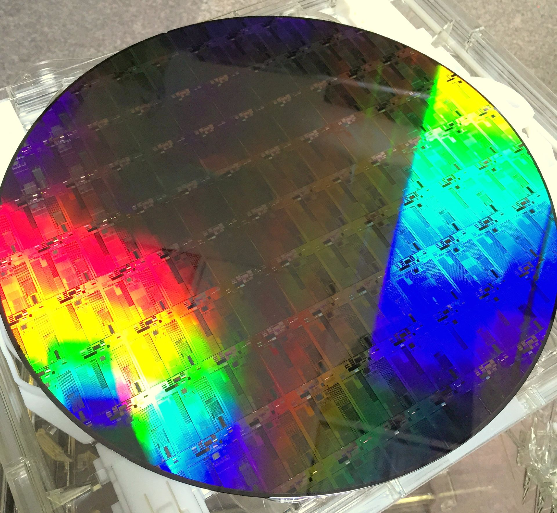 Silicon Photonics 300mm wafer