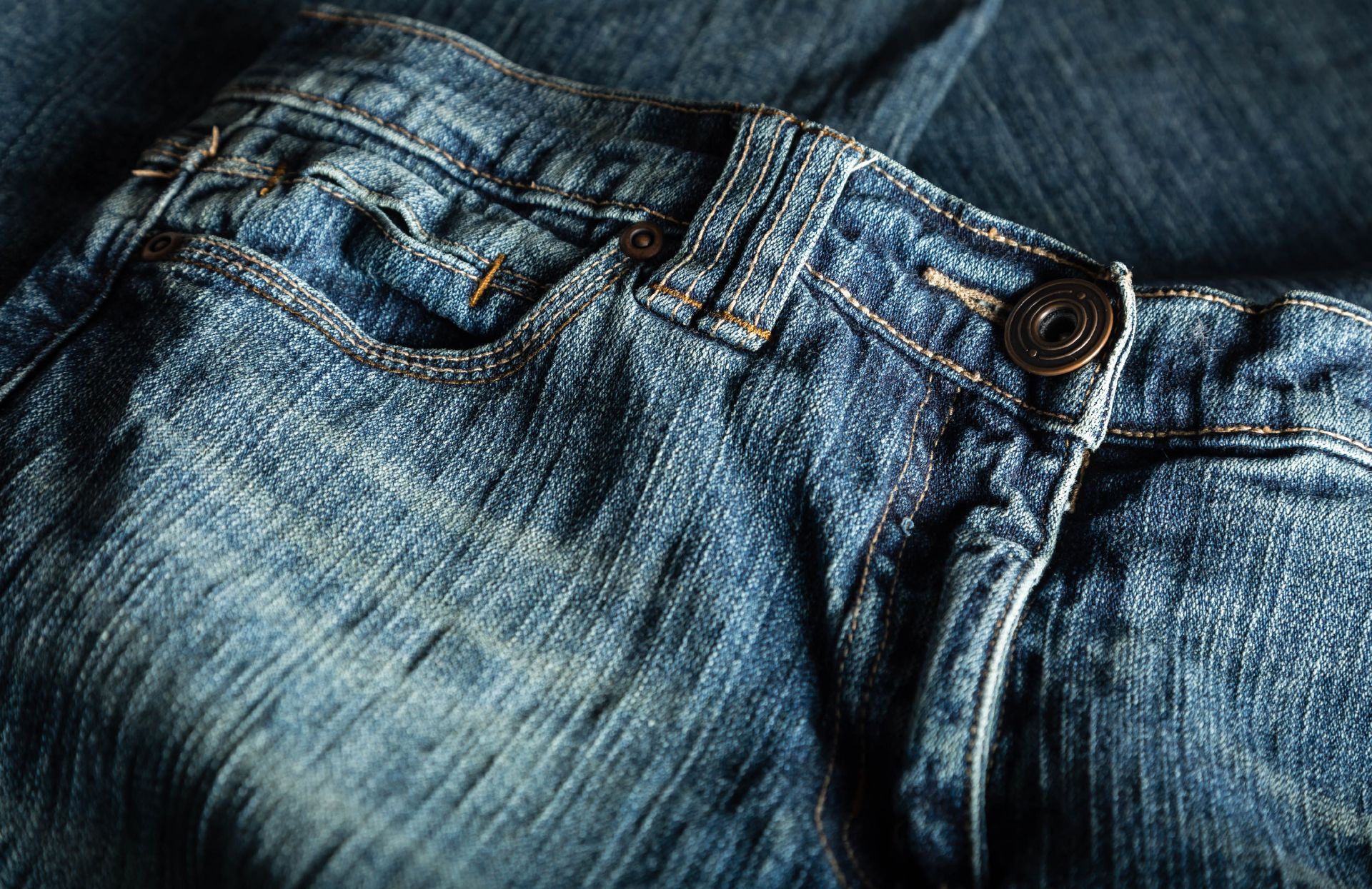 Lasers are used to apply patterns and effects to jeans.