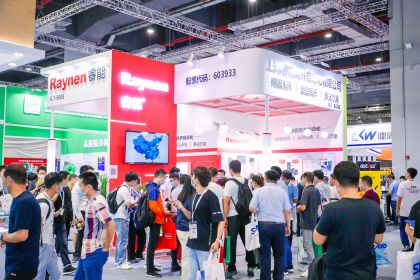 Full booths at electronica China 2020