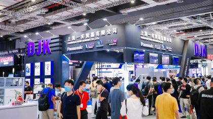 Visitors at productronica China 2020