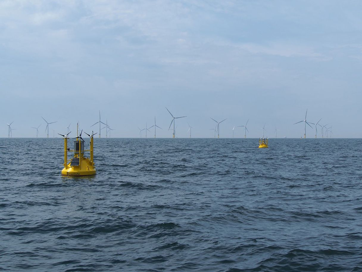 Wind measurement at sea: LiDAR measuring buoys in offshore use.